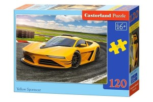 Puzzle 120 Yellow Sportscars CASTOR