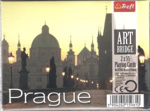 Karty - Art Bridge - Prague TREFL