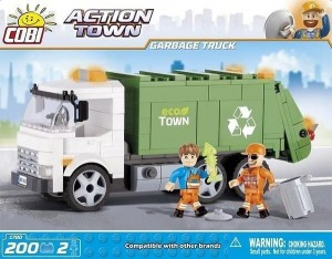 Action Town Garbage Truck Śmieciarka