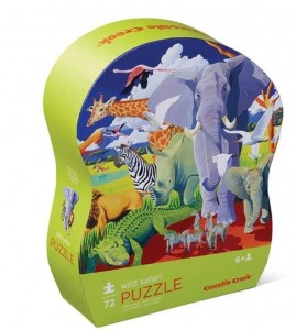 Puzzle 72 el. - Dzikie Safari