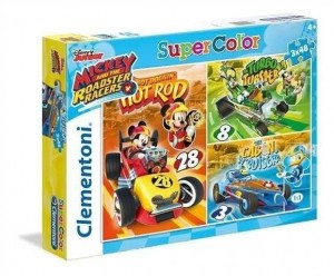 Puzzle 3x48 Mickey and the Roadster Racers
