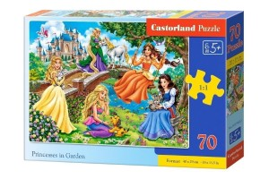 Puzzle 70 Princess in Garden CASTOR