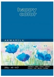 Blok akwarelowy ART A5/10K 250g Happy Color