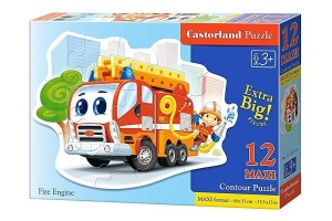 Puzzle 12 maxi Fire Engine CASTOR