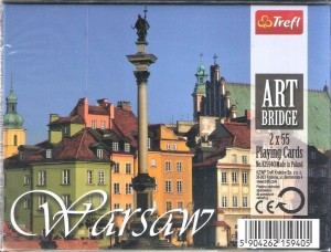 Karty - Art Bridge - Warsaw TREFL