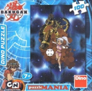 Puzzle 100 Bakugan Julie and Gold DINO