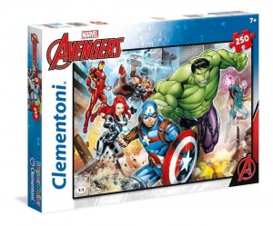 Puzzle 250 Superkolor The Avengers