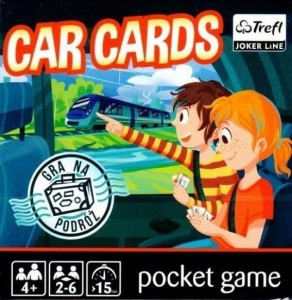 Car Cards TREFL