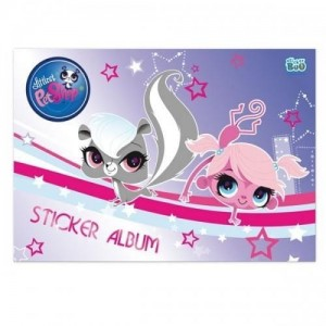 Album na naklejki A5 Littlest Pet Shop