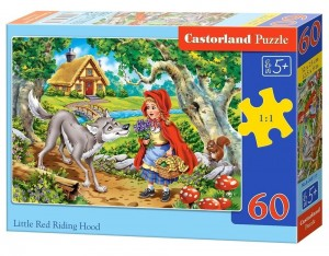 Puzzle 60 Little Red Riding Hood CASTOR