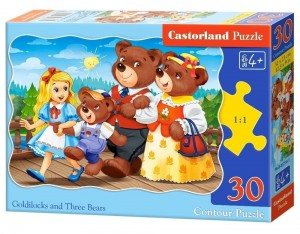Puzzle 30 Goldilocks and Three Bears CASTOR