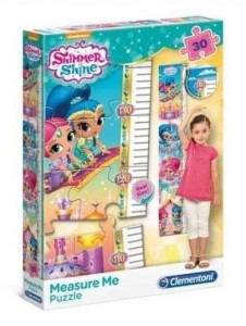 Puzzle Meter Shimmer and Shine